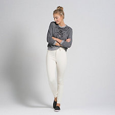 A&F Sydney Natural Waist Jeggings