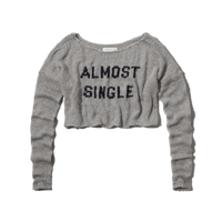 Womens Monica Cropped Sweater