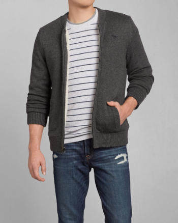 Mens Douglass Mountain Sherpa-Lined Sweater