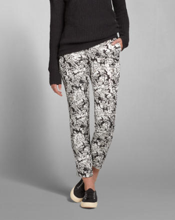 Womens Isabelle Jacquard Pants