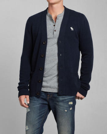Mens Dun Brook Mountain Cashmere Cardigan