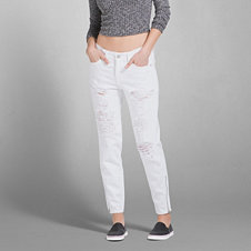 A&F Allie Boyfriend Slouch Jeans