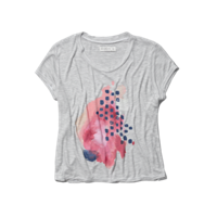 Womens Mallory Graphic Tee