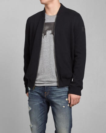 Mens Gill Brook Reversible Bomber Jacket