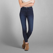 Cara High Rise Jean Ankle Legging