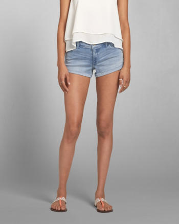 Womens A&F Low Rise Short