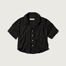 Womens Lindsey Cropped Shirt