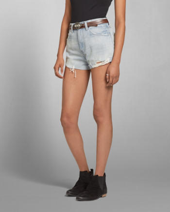 Womens A&F High Rise Festival Short
