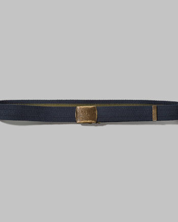 Mens Reversible Classic Stripe Belt