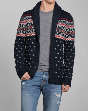 Mens Cellar Mountain Shawl Cardigan