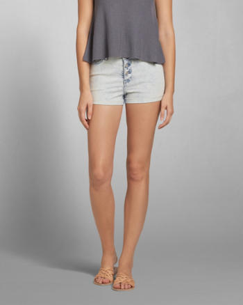 Womens A&F High Rise Short