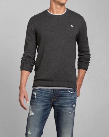 Mens Marble Mountain Crew Sweater