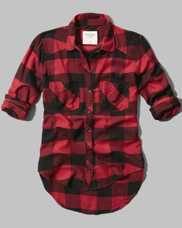womens benni flannel shirt