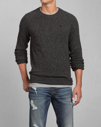 Mens Blake Peak Crew Sweater