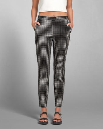 Womens Chelsea Checkered Pant