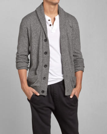 Mens Allen Brook Shawl Cardigan