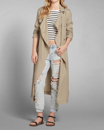 Womens Lucy Trench Coat