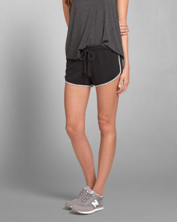 Womens A&F Sporty Shorts