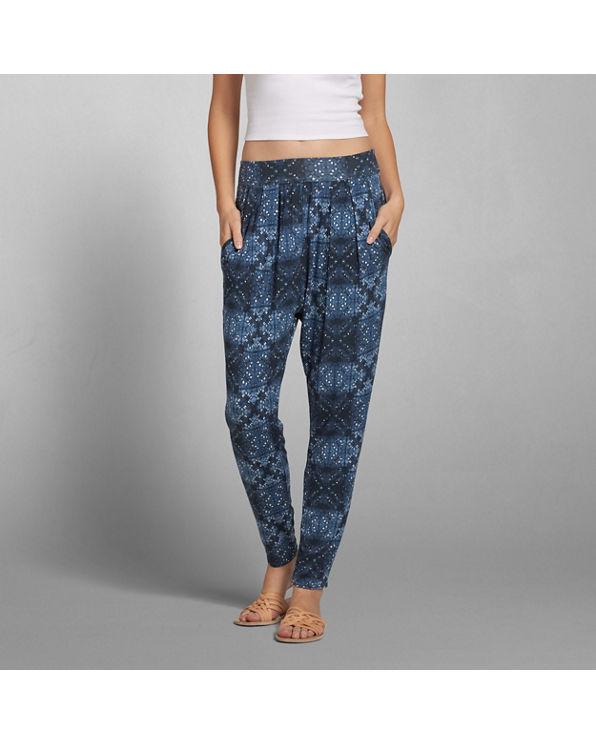 Perfect Womens Pattern Drapey Harem Pants  Womens Sale  Abercrombiecouk