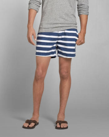 Mens A&F Campus Fit Shorts