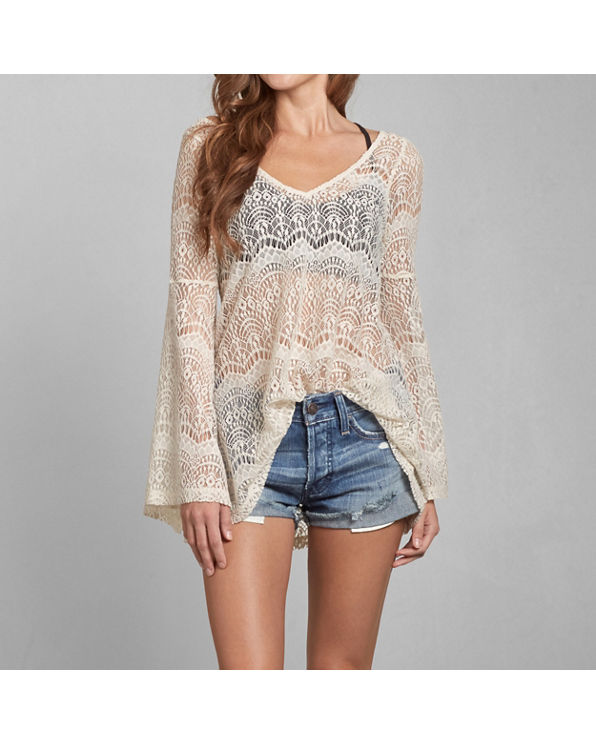 Sheer Lace Tunic