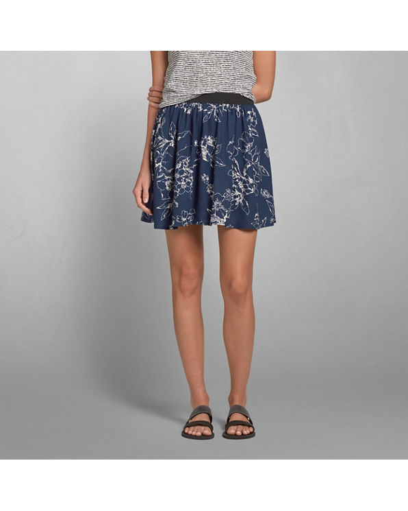 womens floral skater skirt womens clearance