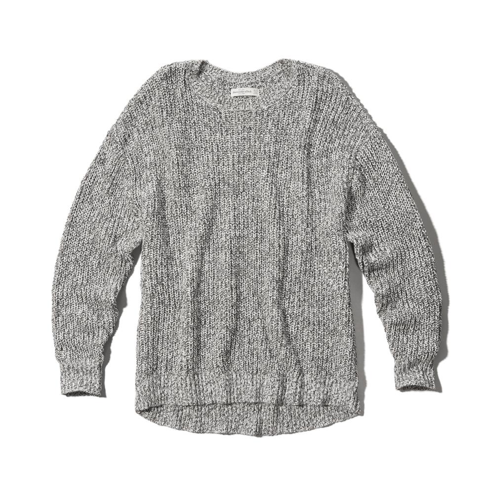 Womens Slouchy Knit Sweater Womens Sale Abercrombie.co.uk
