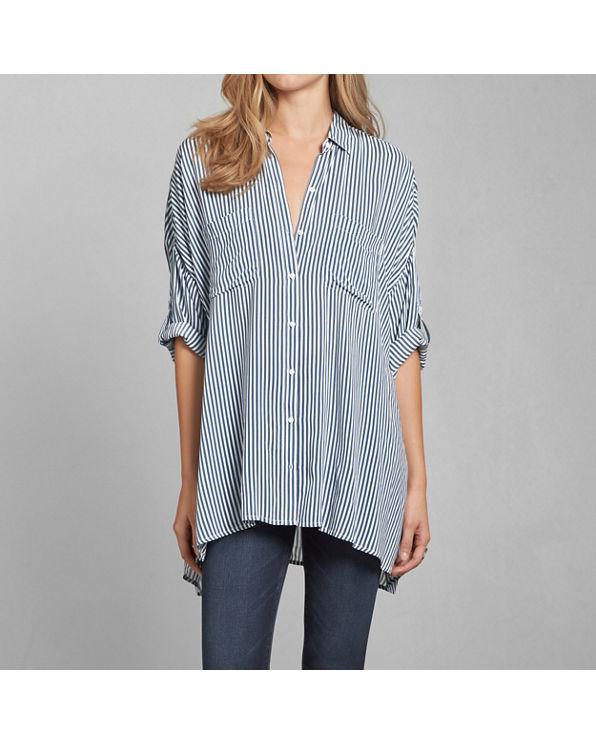 Womens dolman button down shirt womens tops for Womens tall button down shirts