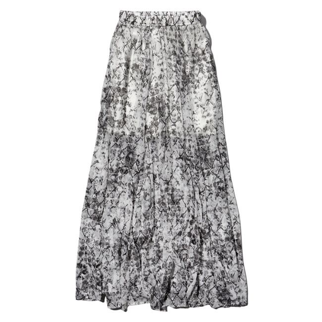 womens pattern chiffon maxi skirt womens sale