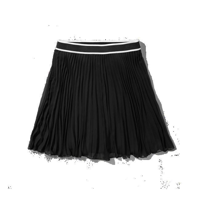 Brilliant BCBGMAXAZRIA Women39s Bonita Full Pleated Skirt  FABRIQUED