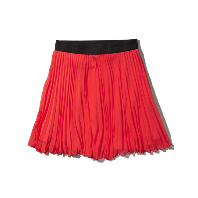 womens pleated chiffon skater skirt womens clearance
