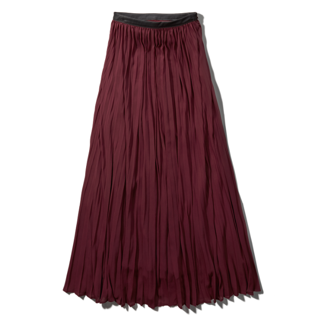 womens pleated chiffon maxi skirt womens sale
