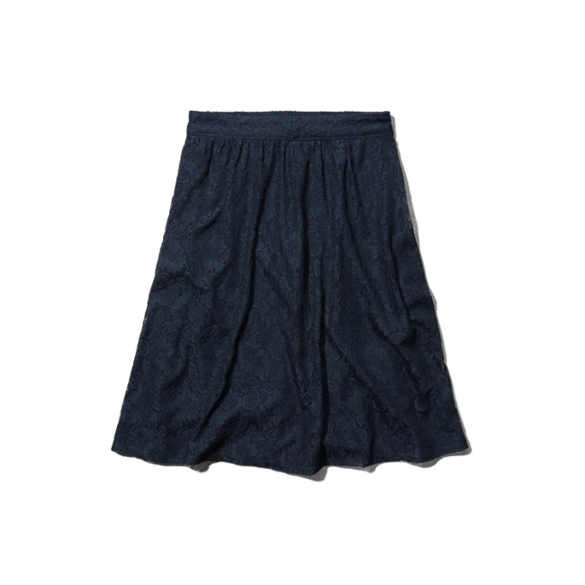 womens lace midi skirt womens skirts abercrombie co uk