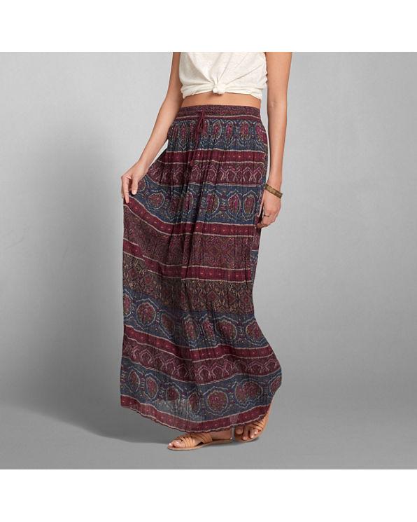 pattern pleated maxi skirt pattern pleated maxi skirt