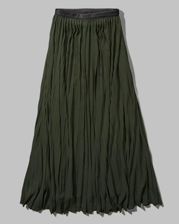 womens pleated chiffon maxi skirt womens clearance