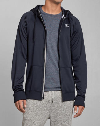 Mens A&F Active Hoodie
