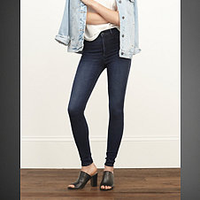 A&F High Rise Jean Leggings