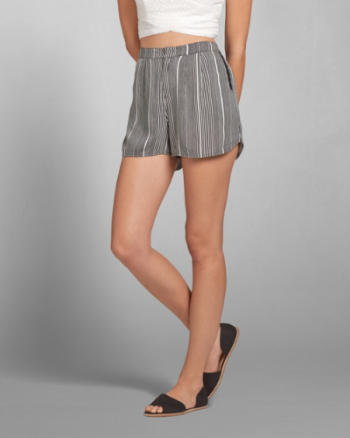Womens Iris Drapey Shorts