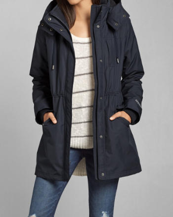 Womens A&F All-Season Weather Warrior Parka