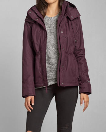 Womens A&F All-Season Weather Warrior Jacket
