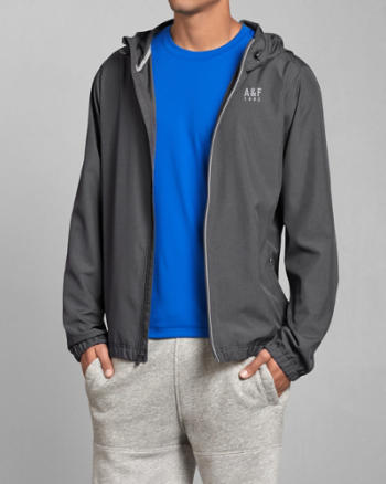 Mens A&F Active Lightweight Jacket