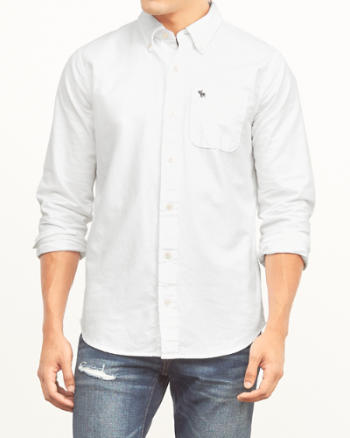 Mens Classic Fit Oxford Shirt