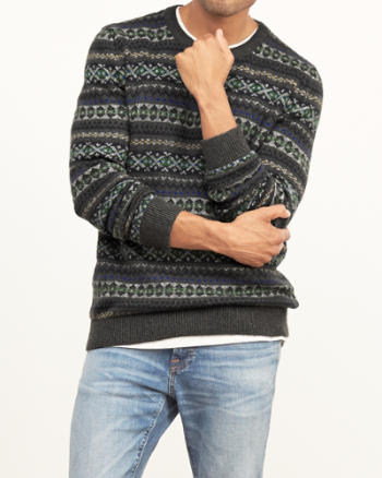 Mens Fairisle Sweater