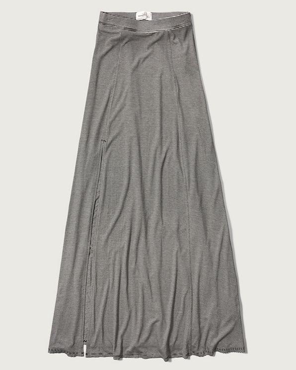 womens knit maxi skirt