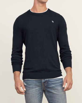 Mens Iconic Crew Neck Sweater