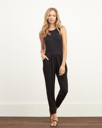 Womens Knit Jumpsuit