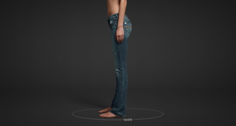 Shop Abercrombie & Fitch Boot Jeans for women.