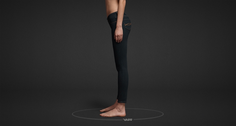 Shop Abercrombie & Fitch Ankle Jeans for women.