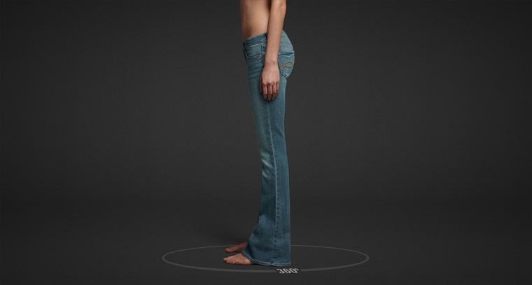 Shop Abercrombie & Fitch Flare Jeans for women.