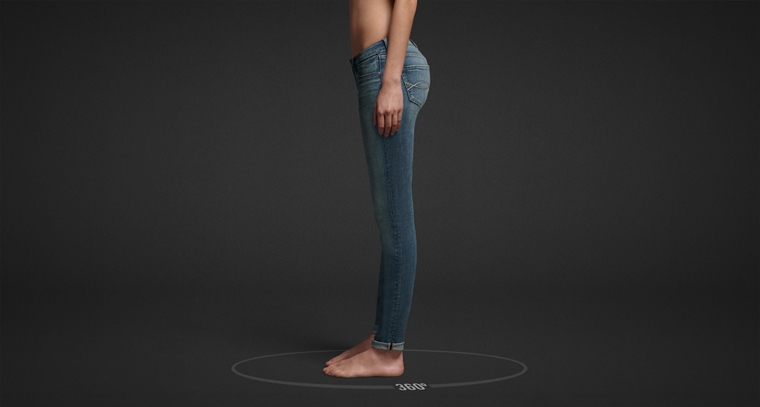 Shop Abercrombie & Fitch jeggings.